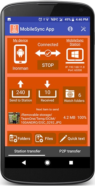 mobilesync for android