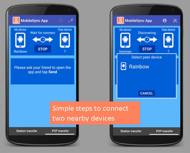 how mobilesync works on android