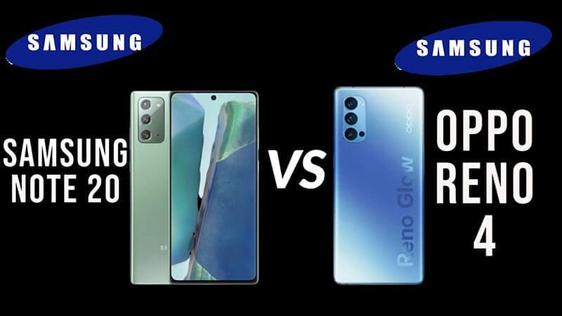 Galaxy Note20 vs. OPPO Reno 4 Pro