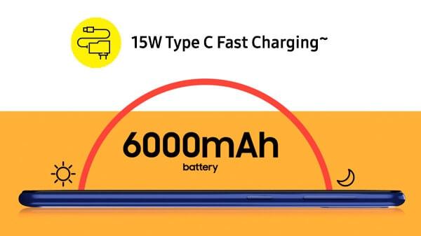 Samsung galaxy m21 battery