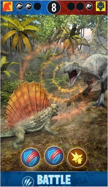 Jurassic world alive hack joystick