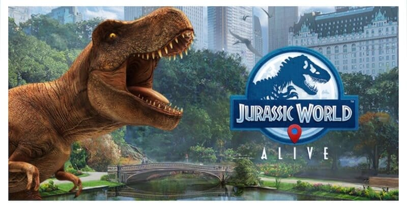 Jurassic world alive introduction
