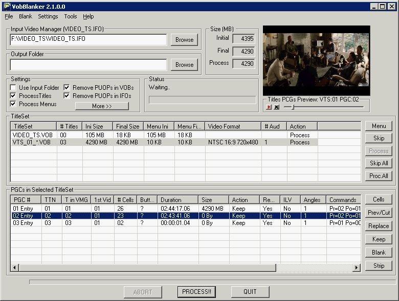 VobBlanker DVD Creator Freeware