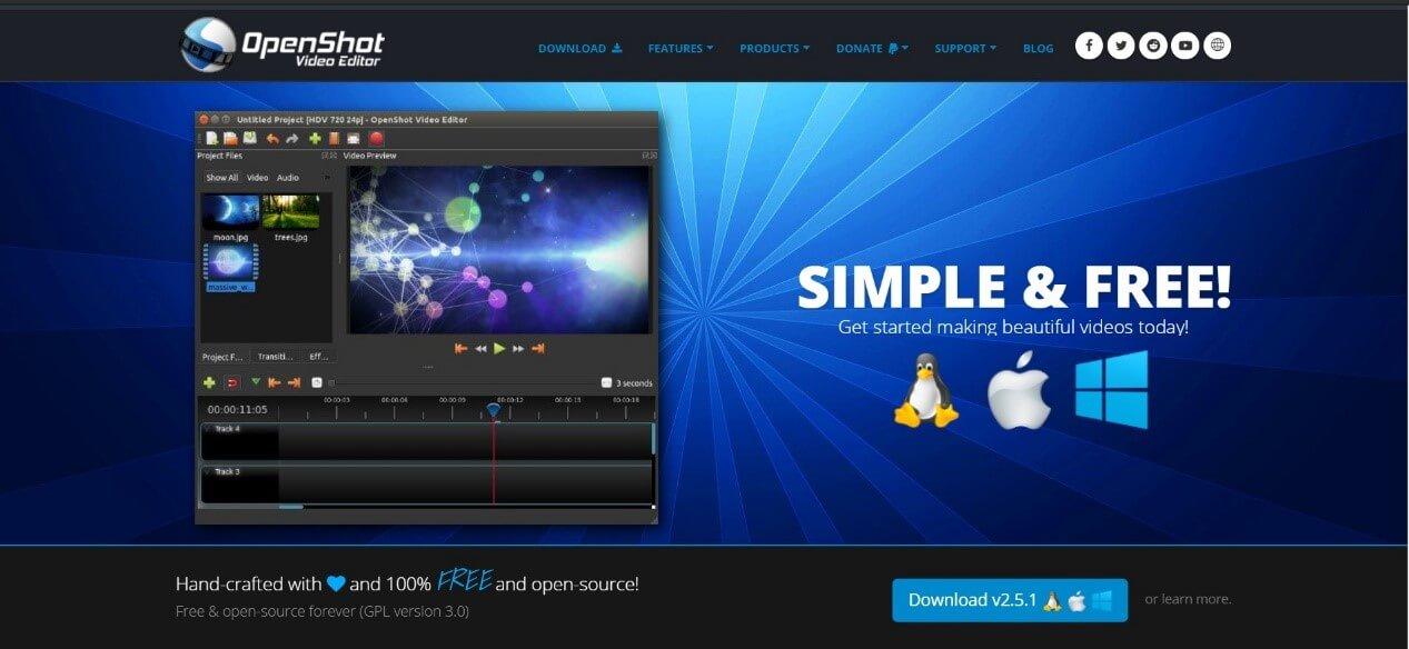 Openshot Video Maker