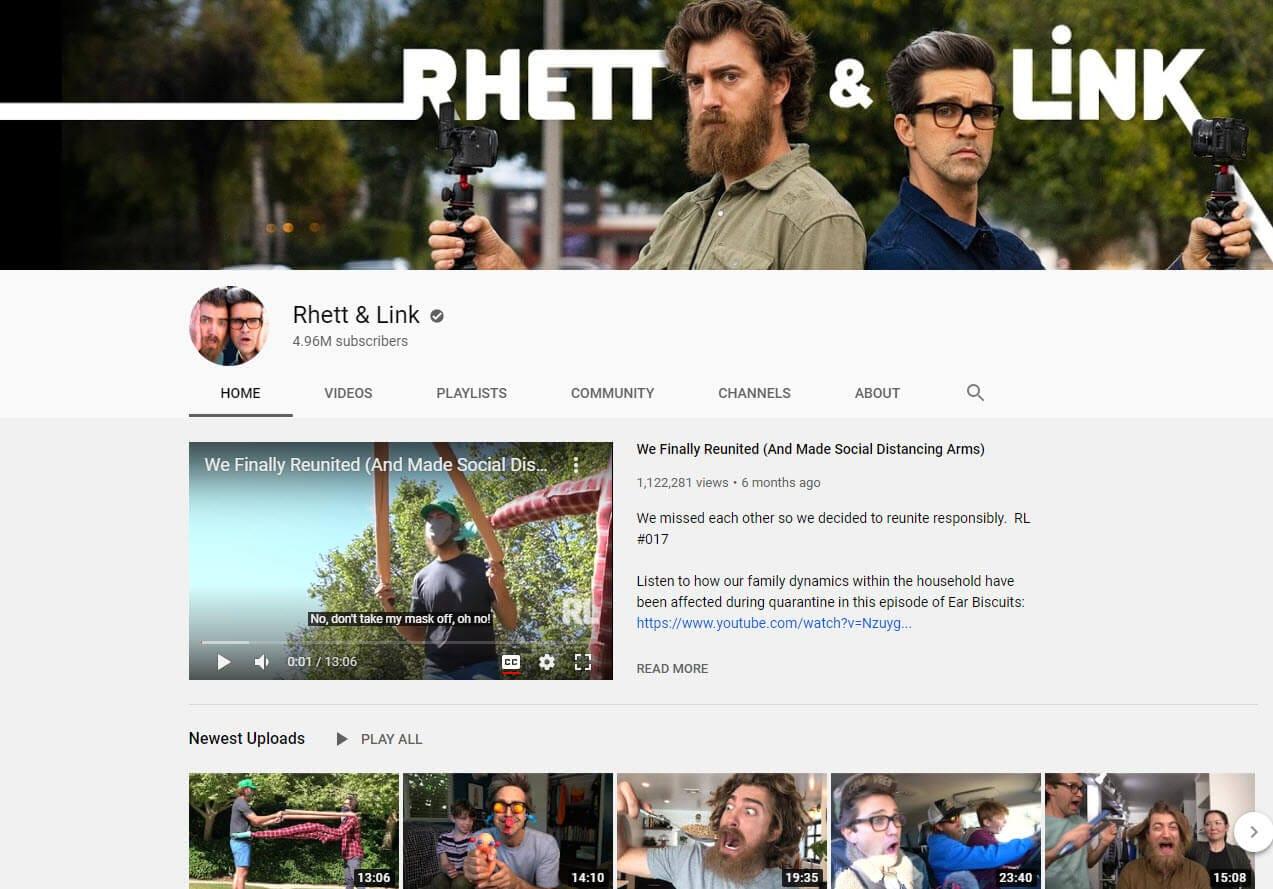 rhette youtube vlogger