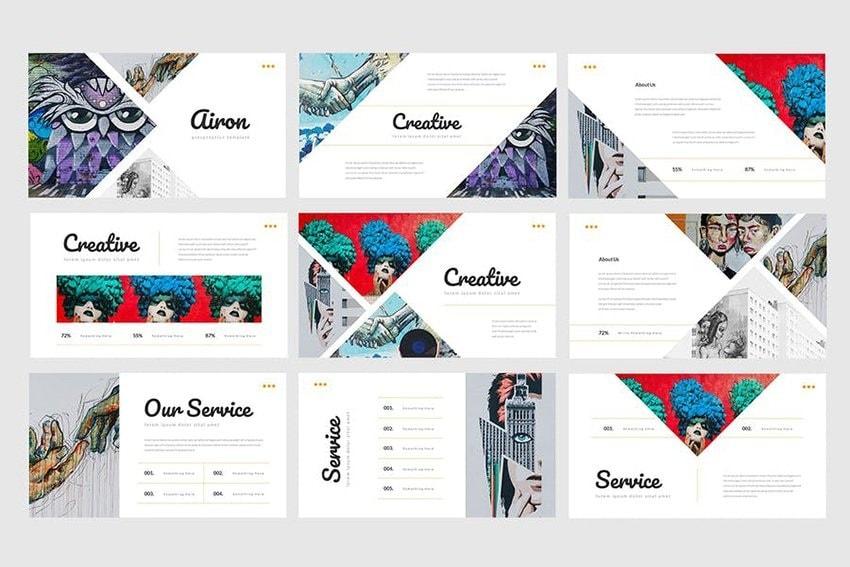 aesthetic slideshow ideas