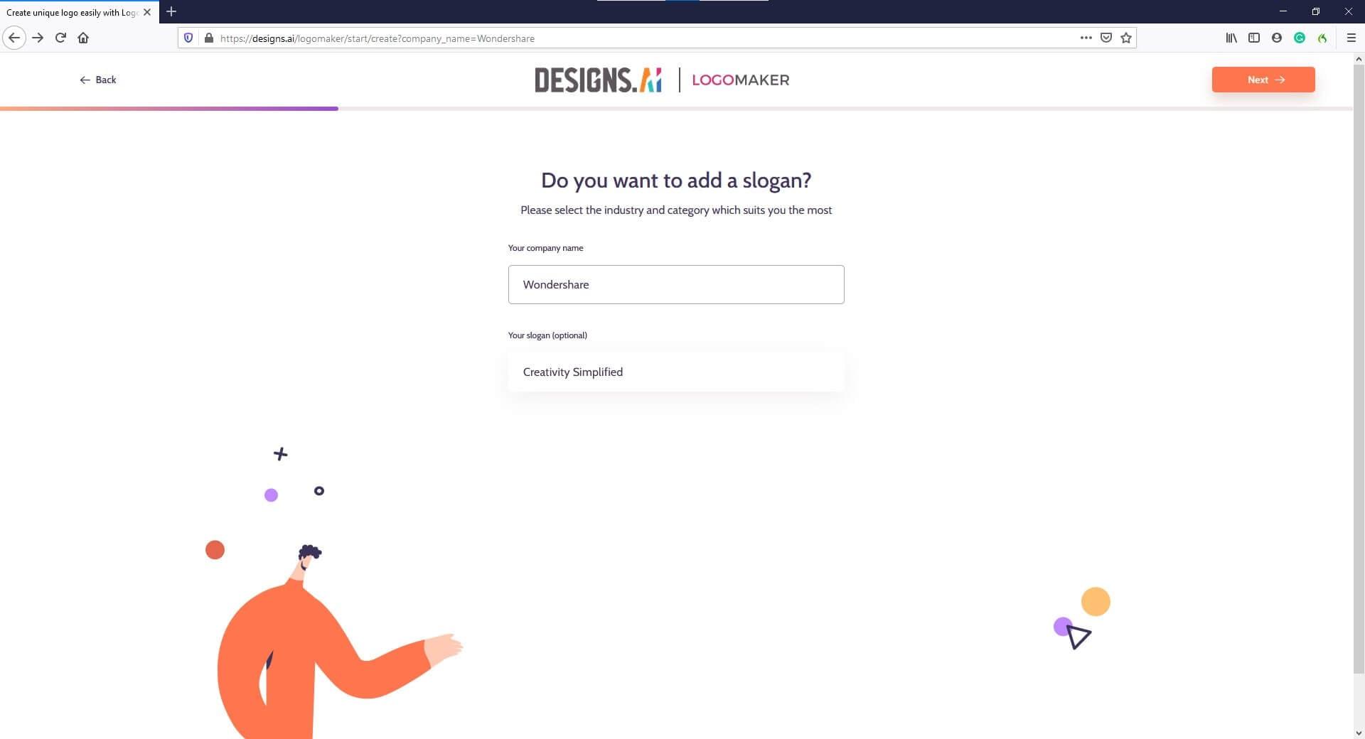 AI Logo Creator -Designs.ai