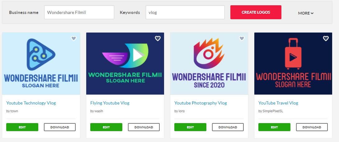 Online Vlog Logo Maker: BrandCrowd