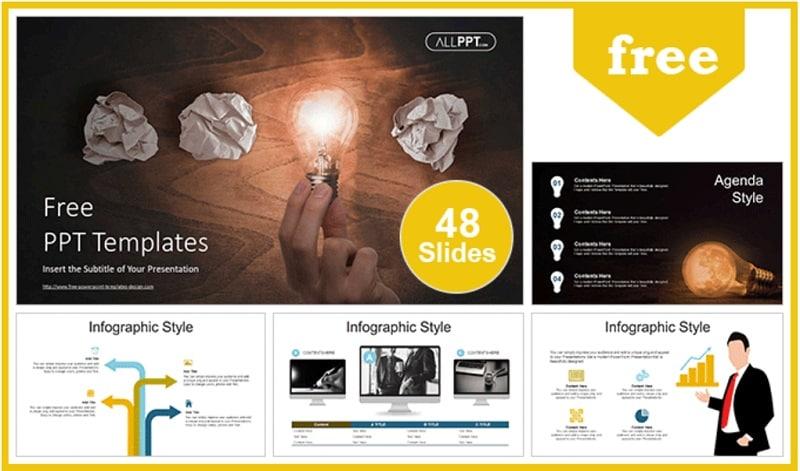 business slideshow template