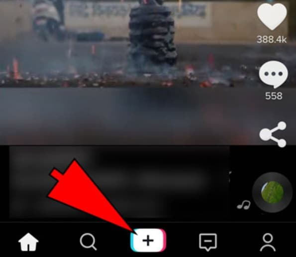 click plus tiktok