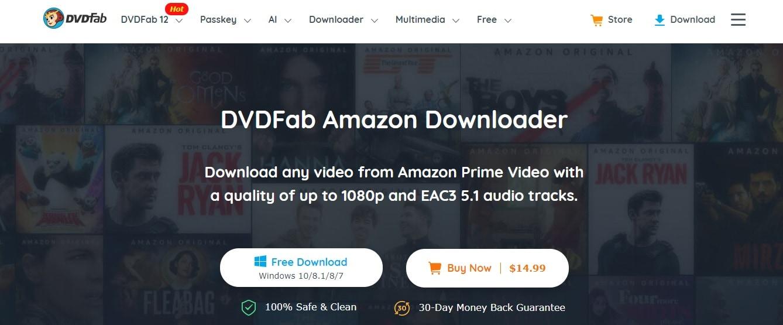 DVDFab Amazon downloader