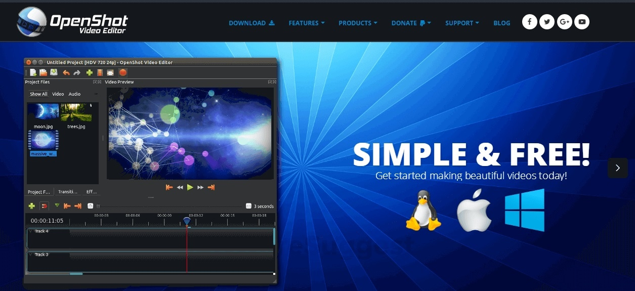 Easy Video Editing Software Openshot