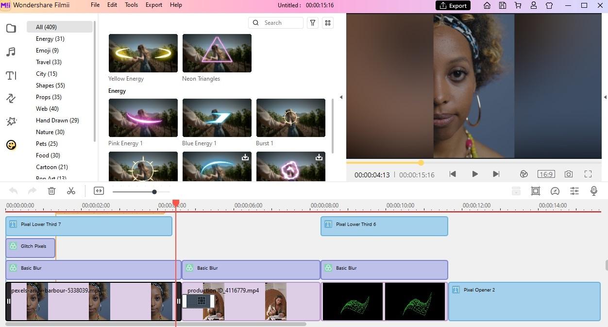 Edit Export Gaming Intro Template Filmii