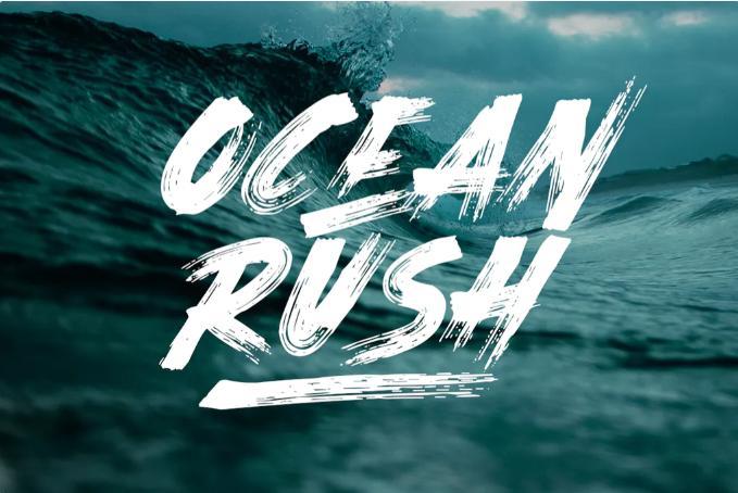 expressive ocean rush