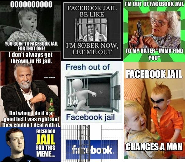 facebook jail memes