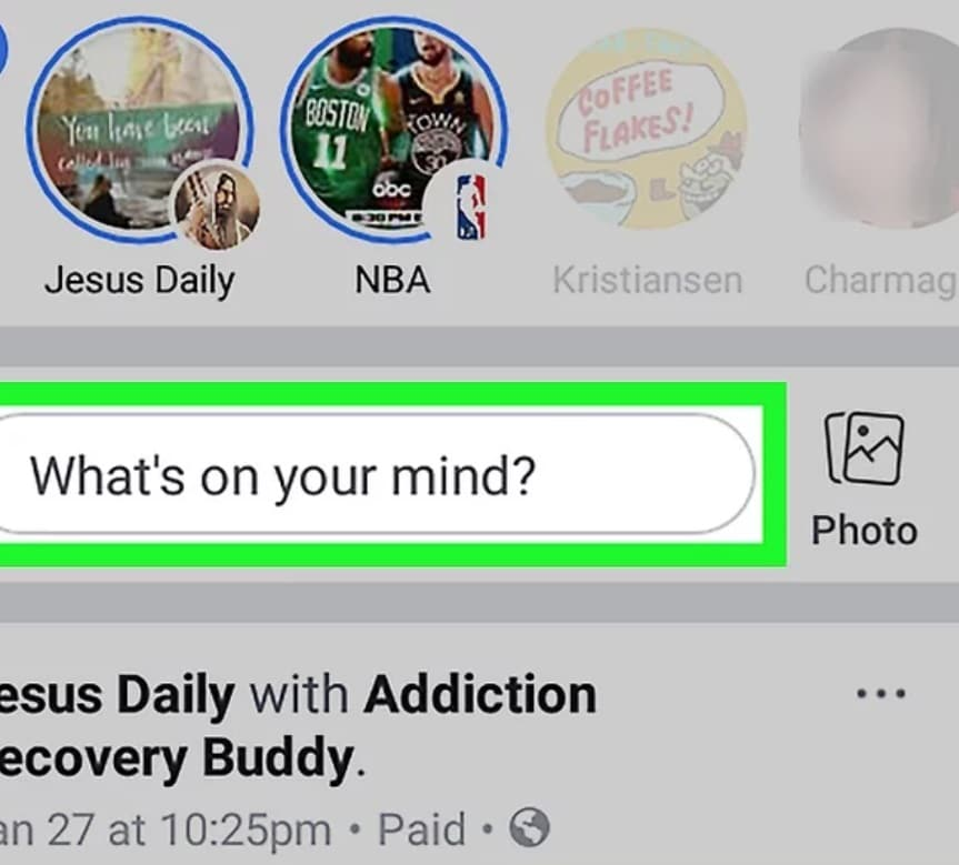facebook whats on your mind