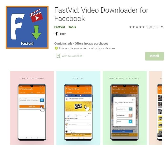 fastvid fb video downloader