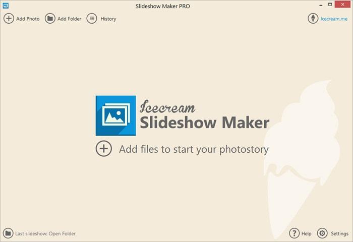 Free Slideshow Maker Icecream