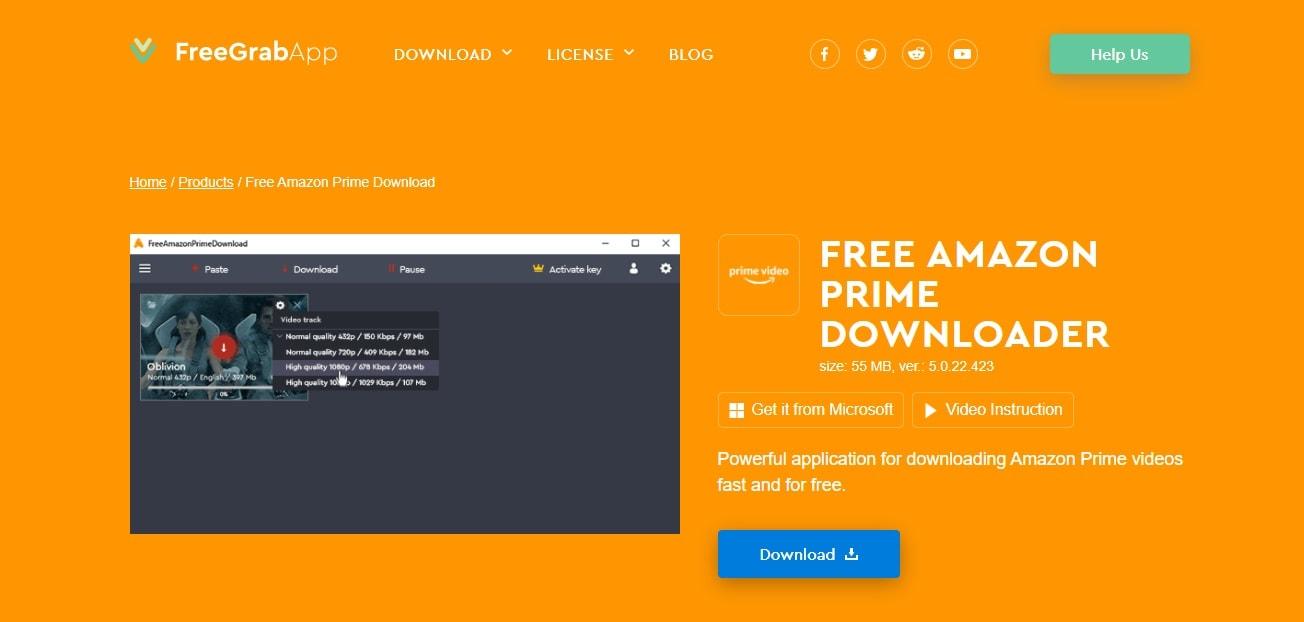 freegrab app prime downloader