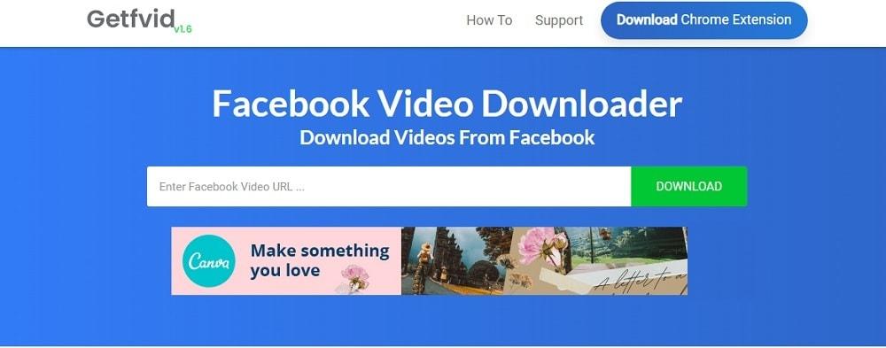 getfvid fb video downloader