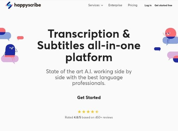 happy scribe video subtitle generator