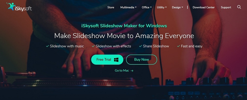 iskysoft slideshow maker