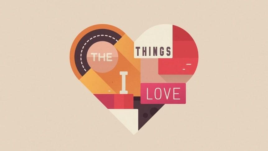 kinetic typography love