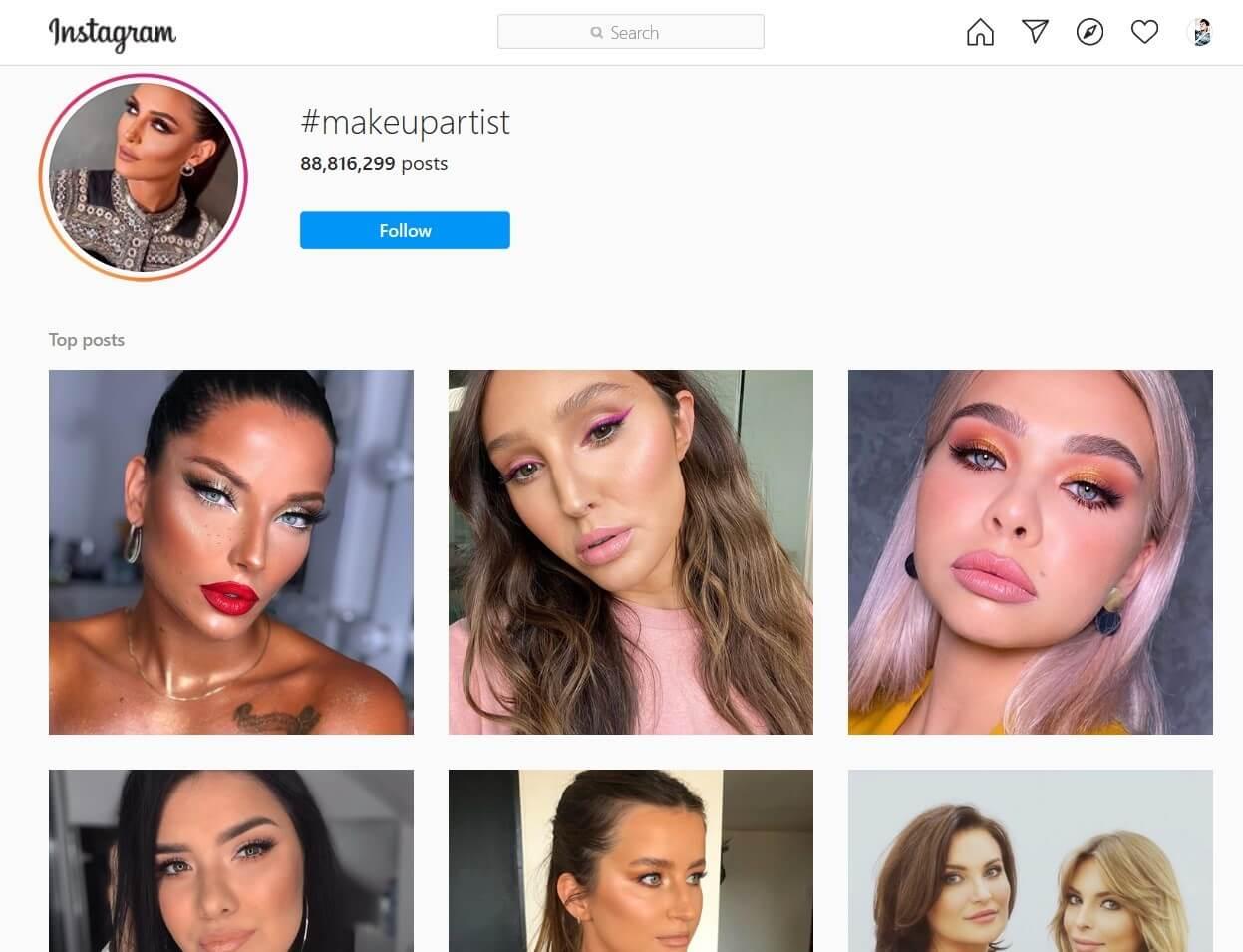 Makeup Vlog Hashtag