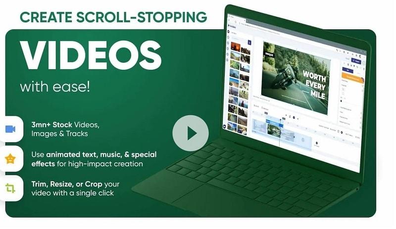 Online Slideshow Maker Invideo