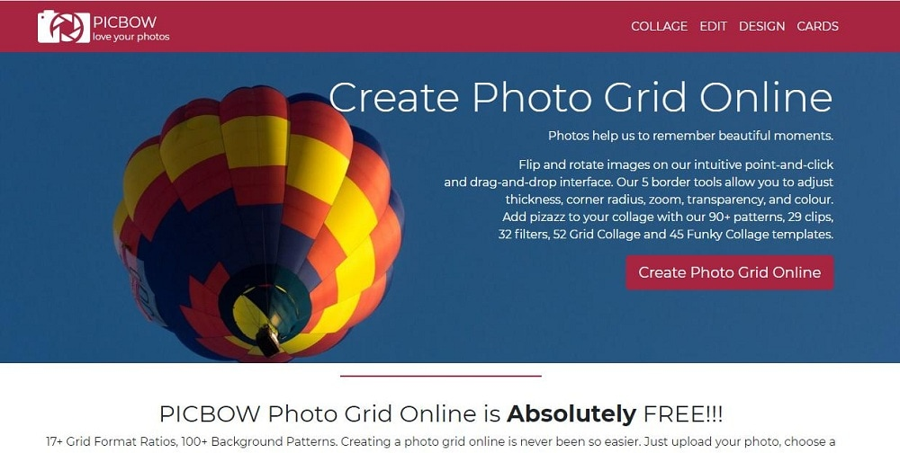 picbow ig grid maker