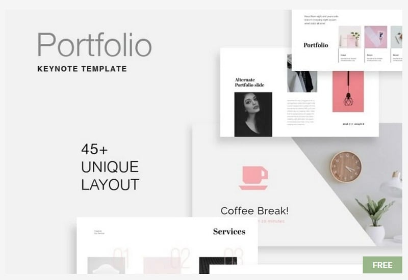 portfolio free template