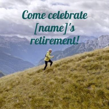 retirement video ideas
