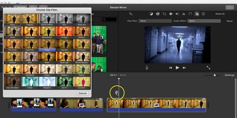 retro video editor imovie