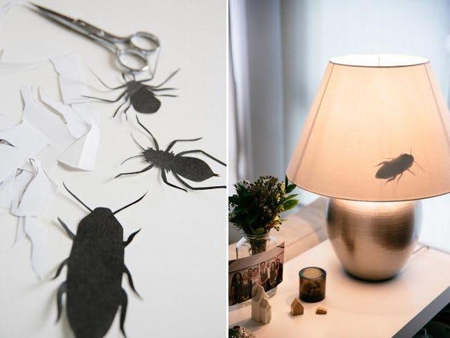 roach silhouettes prank