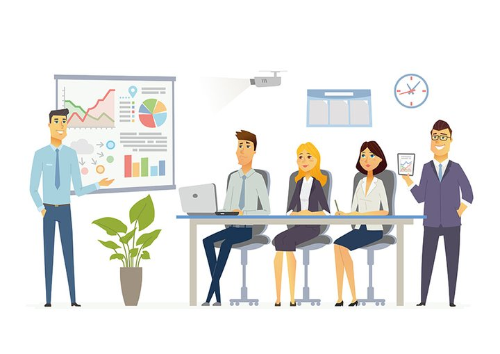 sales presentation example graphic