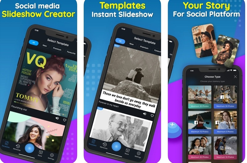 Slideshow App Vimory
