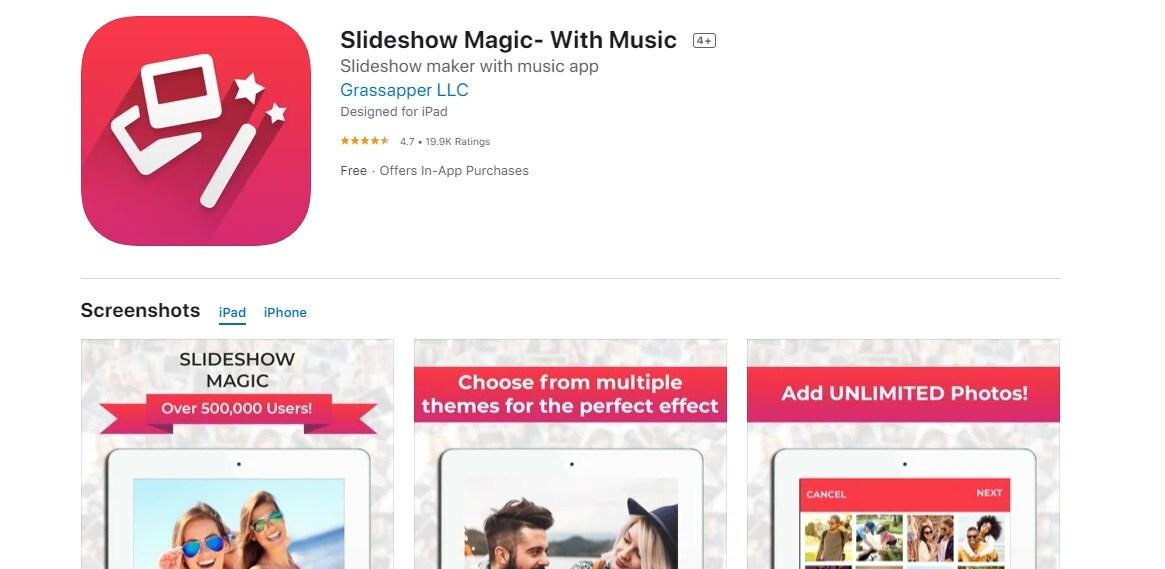 slideshow magic