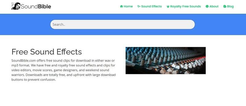 soundbible free sound effects