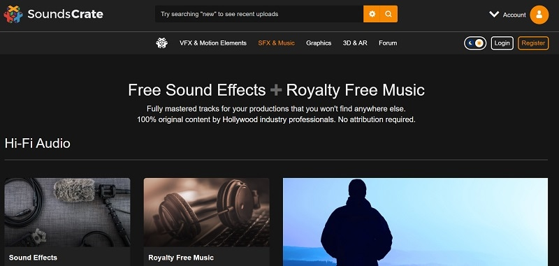 soundscrate free sound effects