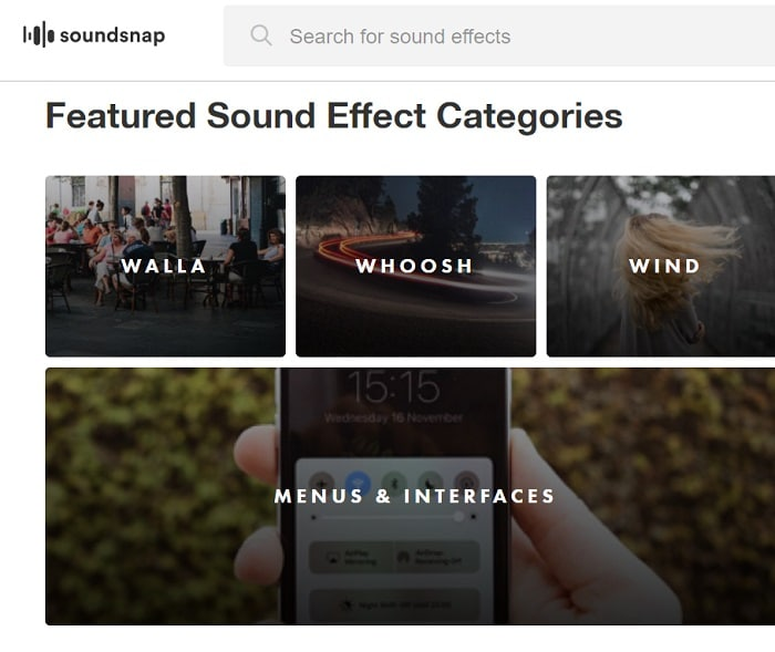 soundsnap free sound effects