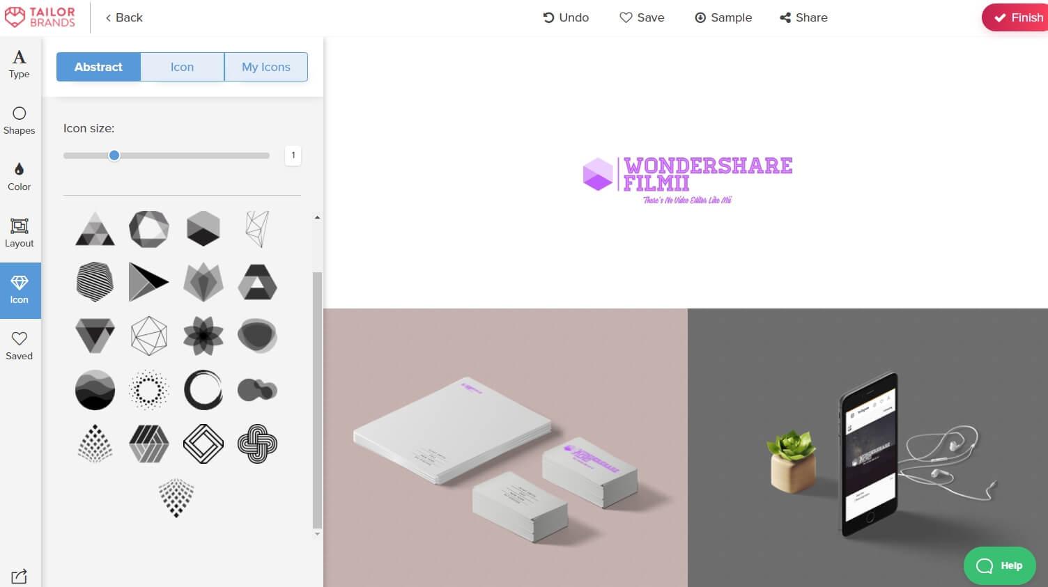 Online Vlog Logo Maker: TailorBrands