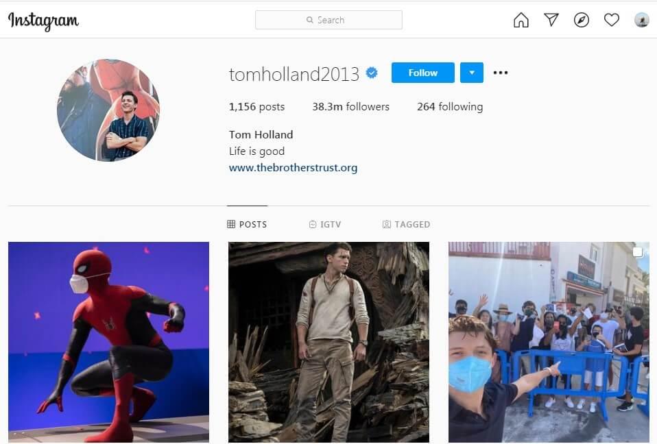 Tom Instagram Influencer