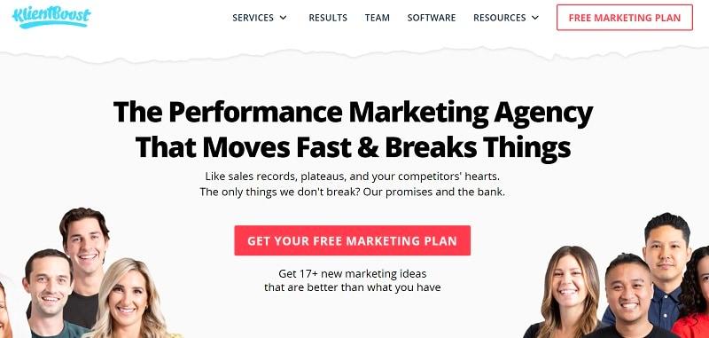 video marketing agency klientboost