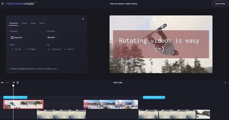 Video Transition Editor Clipchamp