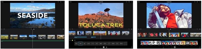 Video Transition Editor iMovie