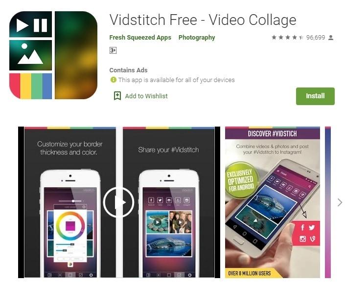 vidstitch free ig collage app