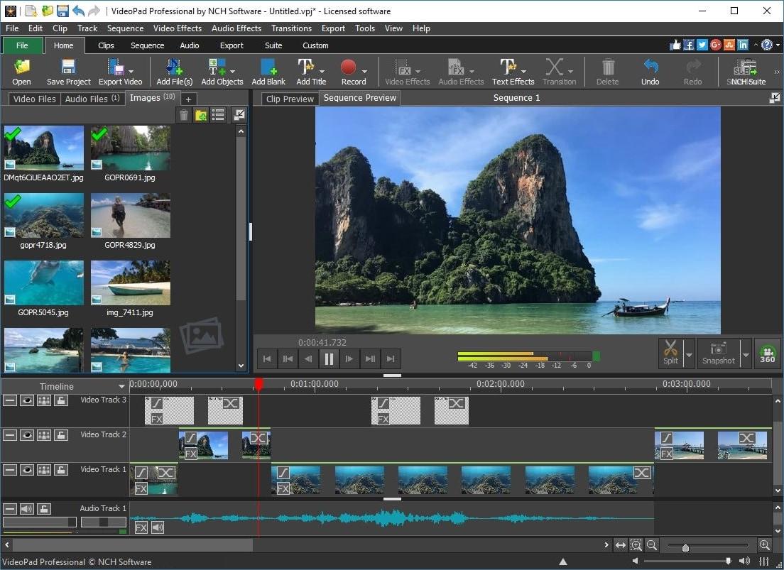 vimeo video editor nch