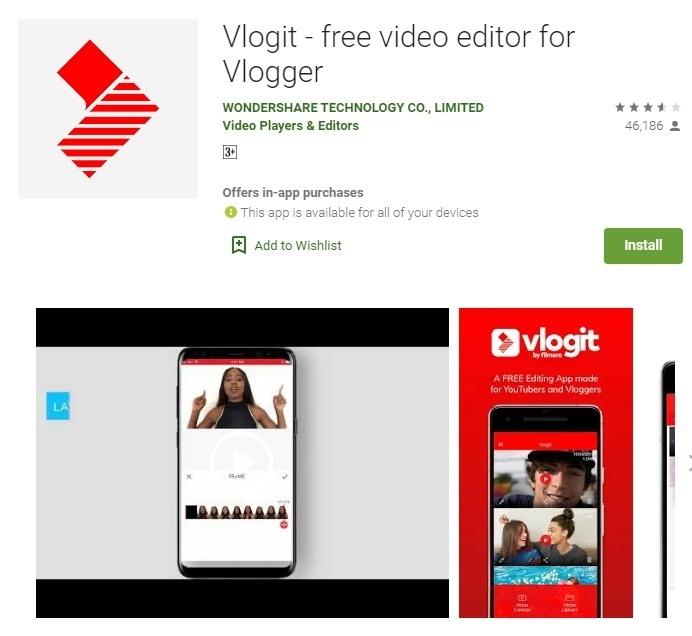 vlogit ig collage app