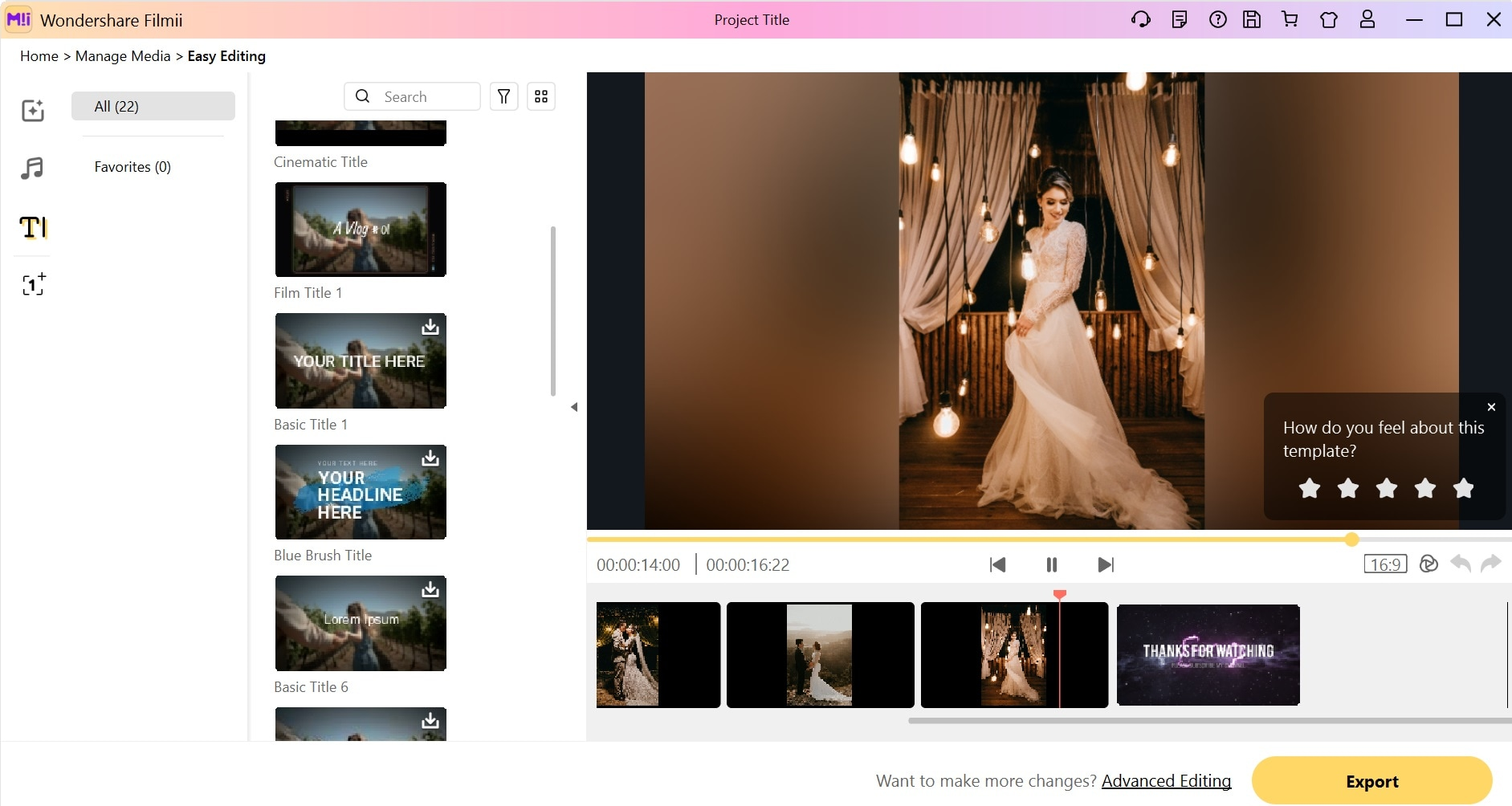 wedding slideshow filmii