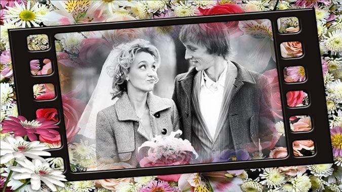 wedding slideshow timing